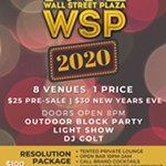 NYE+2020+Block+Party+at+Wall+St.+Plaza